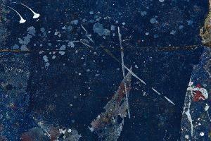 Bleu nuit- Serie- Peintures en chantiers-2018 - 300x200