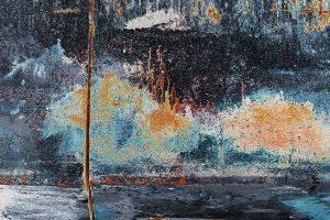 Cahot / Série-Textures picturales-2017